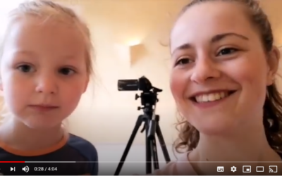 vlog 1: Na een jaar zagen Noor en ik elkaar weer
